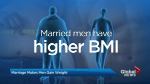 Do men put on weight after marriage?